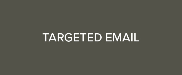 Targeted Email button