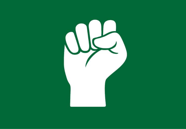 icon of a fist