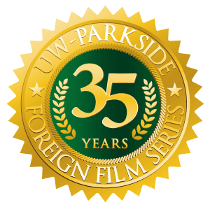 UW-Parkside Foreign Film Series 35 years seal