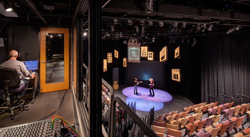 Black Box Theatre Diagram Theatre Ucf Seating Charts